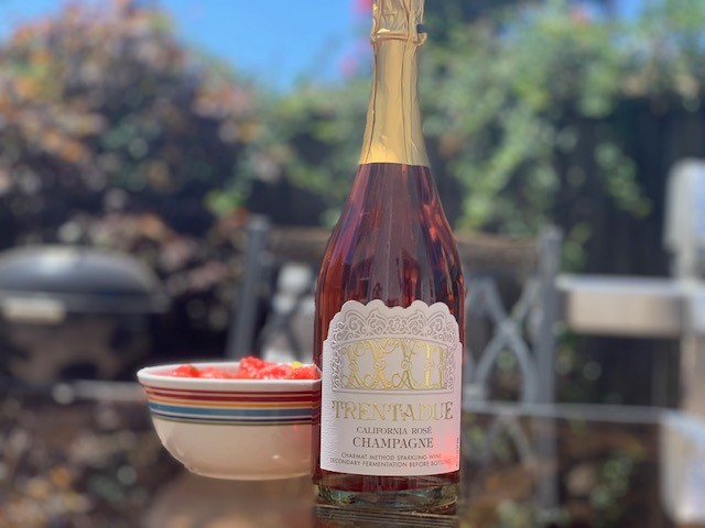 Happy Hour At Home | California Rosé Champagne